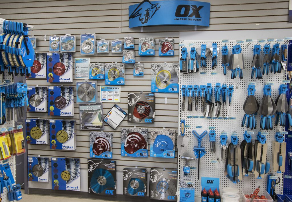 OX tools and saw blades