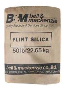 bell & mackenzie silica sand