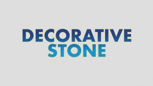 DECORATIVE STONE BUTTON