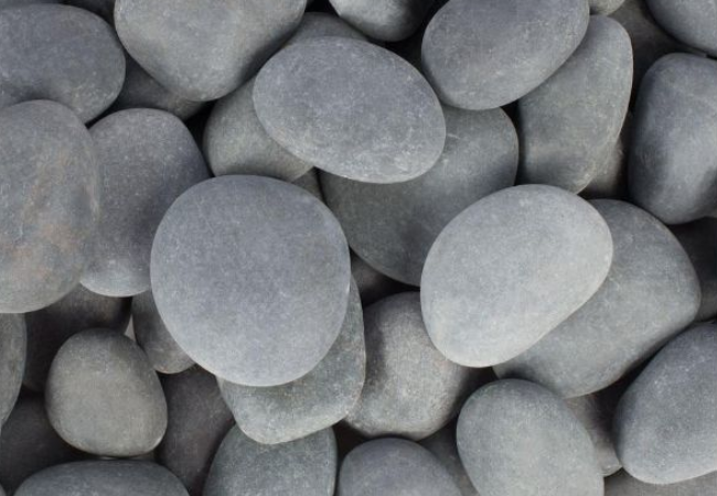 mexican beach pebbles grey