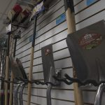 shovels tool wall at arnts
